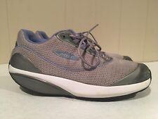 MBT Blue Gray Walking Shoes Women's Size US 8 EUR 38 1/3 Athletic Rocking Soles