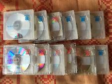 12x MD MAXELL burari 74/80 min. Minidisc gebraucht mit Hülle (13) Japan