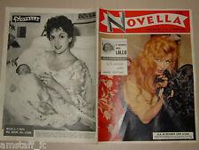 Novella=1957/31=BRIGITTE BARDOT=GINA LOLLOBRIGIDA=CHIARI BS=ROBERTO RISSO=