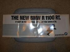 NOS BMW OEM 1995 R100 RT 100 Dealer Advertisement Poster 3 ftx 1ft