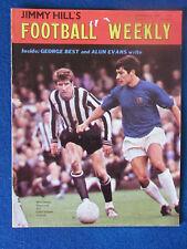 Jimmy Hill's semanal de fútbol - 8/11/1968 - Vol 2-no 3-Viljoen & Davies Cubierta