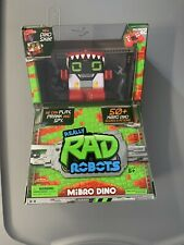 Really Rad Robots - MiBRO DINO, Red with full function RC Remote - New SEALED !!