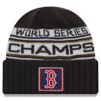 sale retailer cf5c3 11a2e 2018 World Series Champions Boston Red Sox Locker Room Beanie Knit Hat