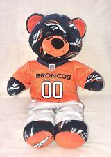 "Build a Bear Denver Broncos Plush Bear with Outfit 16"""