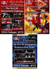 All 3 Best of Series 2016 Vol. 21 Fighting, Forms/Weapons, Demo/Sync Teams