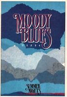MOODY BLUES 1984 SUMMER NIGHTS USA TOUR CONCERT PROGRAM BOOK / NEAR MINT