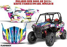 Amr racing decoración Graphic kit UTV Polaris general/rzr 900s/1000xp flashback B