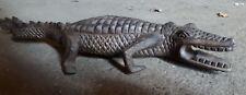 50-60cm Holz Krokodil Australien handarbeit