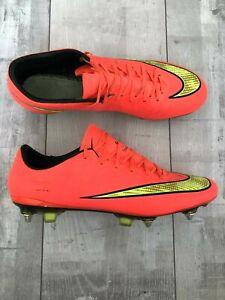 Nike Mercurial Vapor X Soccer Football Cleats Mango ACC Boots US9.5 UK8.5