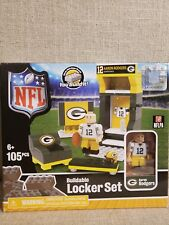 Aaron Rodgers Nfl Football Green Bay Packers Qb Oyo Sports Buildable Locker Set