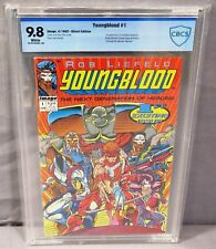 YOUNGBLOOD #1 (First Appearance) White Pages CBCS 9.8 Image Comics 1992 cgc