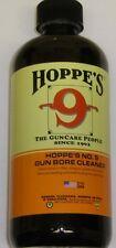 Hoppe's Hoppes #9 Powder Bore Cleaner Solvent 16 oz bottle #916 NEW