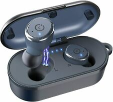 New listing Tozo T10 Bluetooth 5.0 Wireless Earbuds with Wireless Charging Case Ipx8