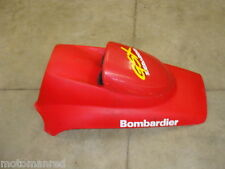 97 98? SEA DOO GSX SEADOO 787 800 RED FRONT NOSE GAUGE COVER DOOR HOOD PLASTIC