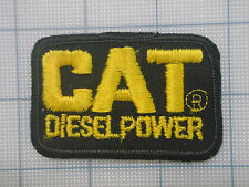 Vintage  CAT DIESEL POWER  patch     car    auto    racing   van    trucker