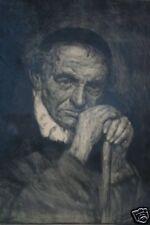 LITHOGRAPHIE L'AVARE EPREUVE D'ARTISTE SIGNEE DATE 1932