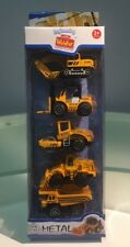 Diecast Engineering Vehicle 3 Inch Construction Car Set Of 5