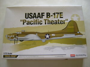 1:72 SPECIAL EDITION Model Kit  #12533 Academy Boeing B-17E Pacific Theater BNIB