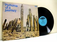 CHRISTOPHER ROWE AND IAN CLARK patterns of a journey LP EX+/EX- GAL 4021, vinyl