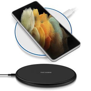 QI Wireless Schnell Ladegerät für Samsung Galaxy S21 Ultra 5G Kabelloses Laden