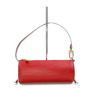 Louis Vuitton LV Accessories Pouch Bag  Reds Epi 2001125