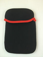 "FUNDA DE NEOPRENO 7"" PULGADAS PARA TABLET EBOOK COLOR NEGRO"