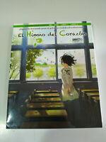 El Himno del Corazon Edicion Coleccionista Blu-Ray + DVD + Libro 1 y 2