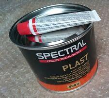 Novol espectral Plast Masilla para plásticos Relleno & Endurecedor 500G