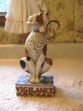 "Jim Shore Cat ""Vigilance"" Heartwood Creek"