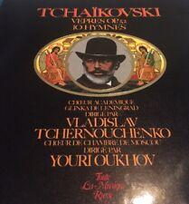 Double 33t EX- Tchaïkovski, Vêpres Opus 52, 10 Hymnes, Melodia Ldx 78749/50