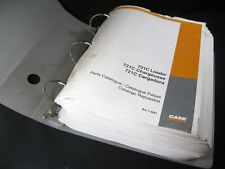CASE 721C Loader Tractor Parts Manual Book Catalog List English French Spanish