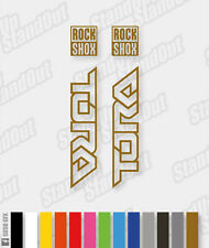 RockShox Tora 2008 Decals / Stickers Pack - Custom / Fluorescent Colours