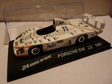 24H39M 1/43 IXO Altaya 24 heures du Mans PORSCHE 936 Jules winner 1st 1981 ICKX