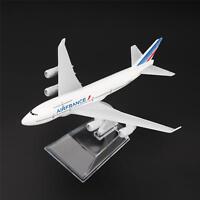 16cm Boeing 747 Air France Aerolíneas Avión Aviones Modelo Metálico