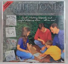 Milestones Stepping Stone, Record your memories in stone Personalized Large