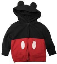 Disney Mickey Mouse Hoodie Jacket with Ears Boy's 3T Full Zip Sweatshirt