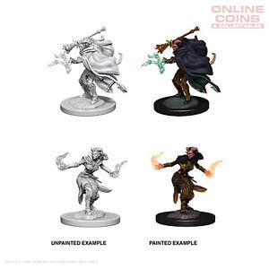 D&D Nolzurs Marvelous Unpainted Miniatures Female Tiefling Warlock - WizKids