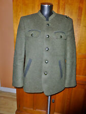 AUSTRIAN Loden Military Green pure WOOL Loden Alpine Sport Hunting JACKET COAT
