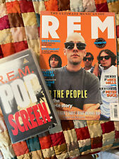 R.E.M vhs 'Pop Screen' and glossy magazine
