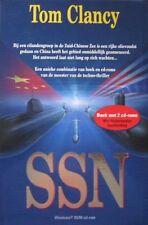 SSN - TOM CLANCY - BOEK MET 2 CD/ROM   (IN DUTCH)