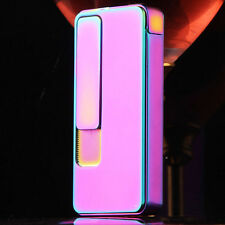 Pink Gas Electronic Rechargeable Battery Windproof Cigarette Lighter