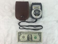 Gossen Lunasix Light Meter with Leather Case from Germany