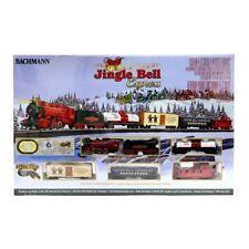 Bachmann Trains Jingle Bell Express HO Scale Ready to Run Electric Train Set