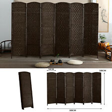 6' Folding Room Divider Privacy Screen Apartment 6 Panel Freestanding Divide Usa