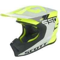 Scott 550 Woodblock Helm grau/gelb Cross Enduro Größe S grau/gelb NEU / NEW
