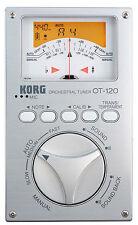 Korg OT120 Chromatic Orchestral Tuner, New!