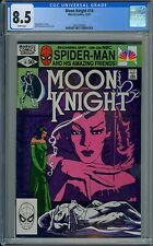 CGC 8.5 MOON KNIGHT #14 WHITE PAGES 1ST APPEARANCE OF SCARLET