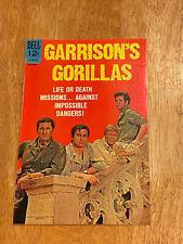 Garrison'S GoriLlas #4 (Oct 1968 Dell) Tv Show Wwii! High Grade Photo Cover!