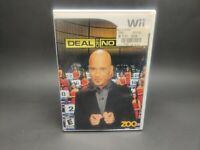 Nintendo Wii - Deal or No Deal - Complete w/ Manual - Clean & Tested Working AC