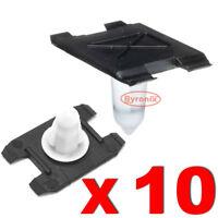 FRONT WING WHEEL ARCH MOULDING TRIM CLIPS BMW X3 F25 X4 F26 OUTER PLASTIC X 10